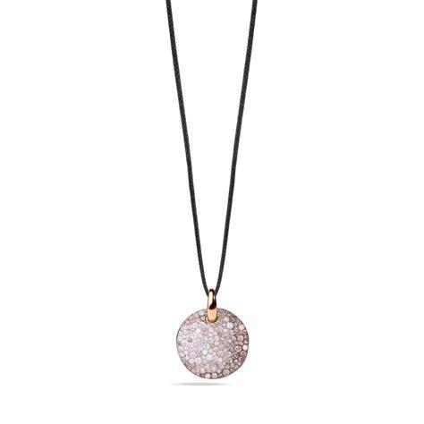 pomellato collezione sabbia pomellato sabbia white and brown pendant