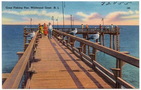 pier j fishing crest fishing pier wildwood crest n j digital