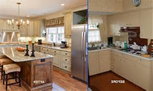 cheap kitchen remodel ideas before and after before and after kitchen photos