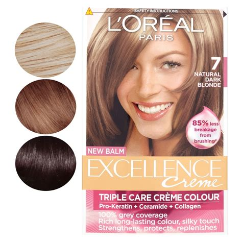 l oreal new hair color l oreal new balm excellence creme care creme hair