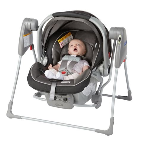 graco swing seat com snugglider classic connect infant car seat