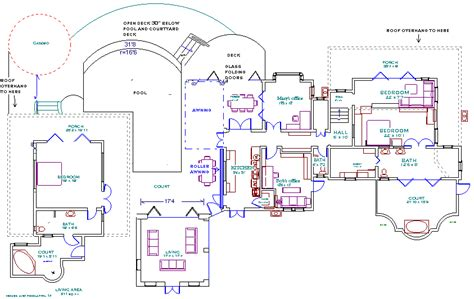 small pool house plans smalltowndjs house plans with pools smalltowndjs