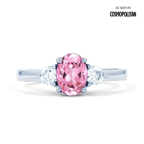 Pink Ring by Pink Sapphire Engagement Rings Www Pixshark Images