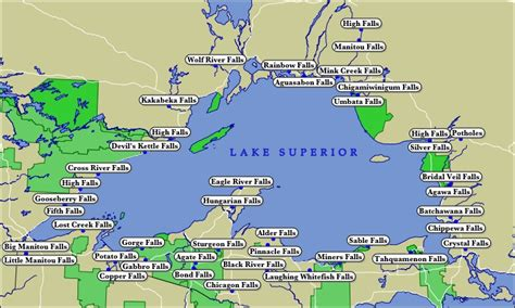 lake superior map the gallery for gt lake superior on world map