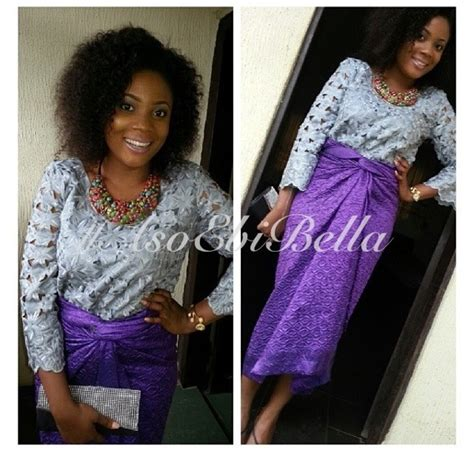 pictures of latest blouse and wrapper bella naija pictures of aso ebi wrapper and blouse lace and velvet