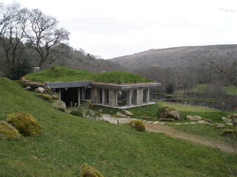 eco house grass roof mow the roof pinterest