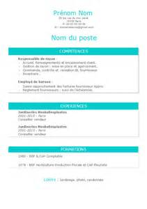 Template Cv Open Office Gratuit Modele Cv Gratuit Office Document