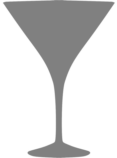 martini silhouette martini glass silhouette free vector silhouettes