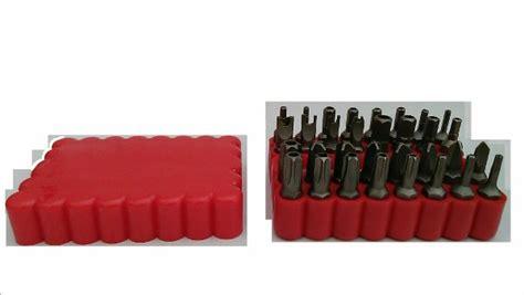 Jual Obeng Hex jual beli mata obeng set 33 pcs hex baru peralatan industrial lainnya