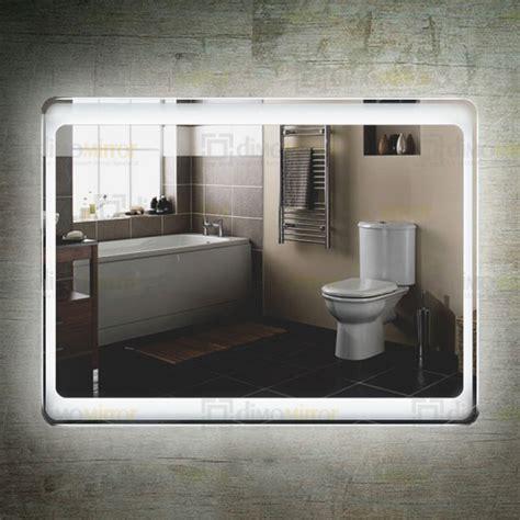 hotel bathroom mirrors china led bathroom mirror factory