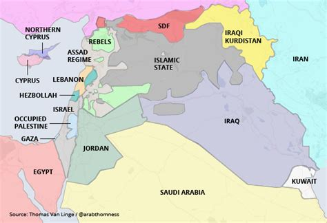 syria middle east map a real map of the middle east big think