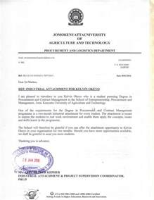 Response Letter With Attachments Attachment Jkuat Letter