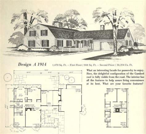modern home 264b110 farmhouse style 1916 sears house plans vintage house plans gambrel roof 1970s vintage house