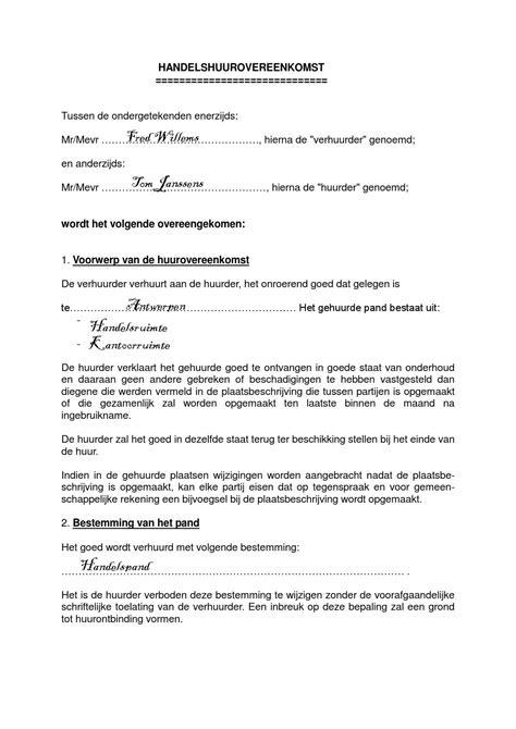 voorbeeld plaatsbeschrijving handelshuurovereenkomst tom by robinvw issuu