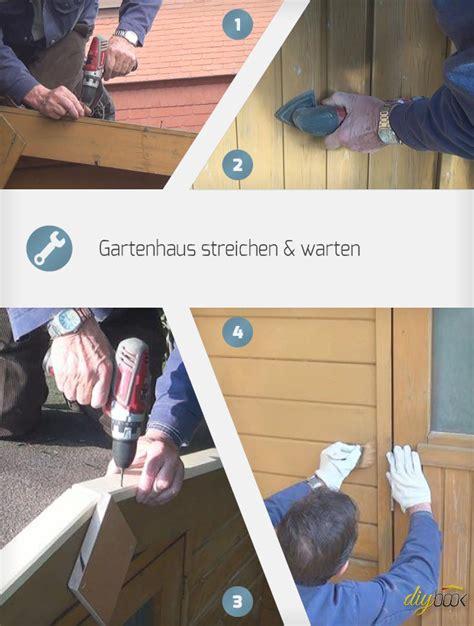 Lackieren Wie Lange Warten by Gartenhaus Streichen Warten Anleitung Diybook De