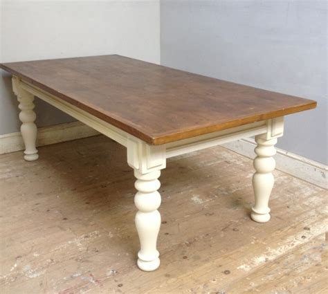 Large Farm Style Dining Table Id3701 Large Farmhouse Style Table