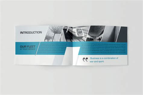 How To Design A Company Brochure by 20 Simple Yet Beautiful Brochure Design Inspiration