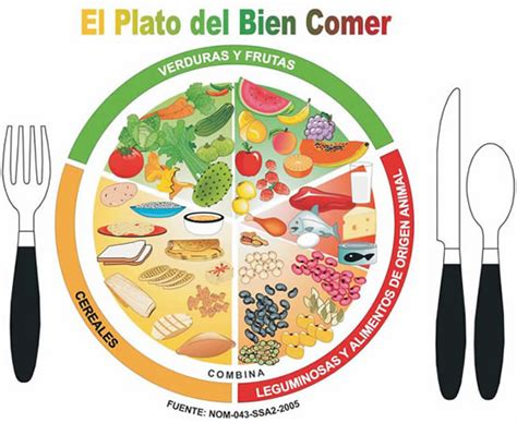 El Plato Del Buen Comer Come Saludable Sin Sacrificios | globalnutri99 el plato del buen comer