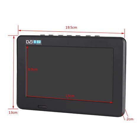 Tv Led Digital Dvb T2 mini portable 7 quot tft led hd tv television hd pvr digital dvb t2 tv player ebay