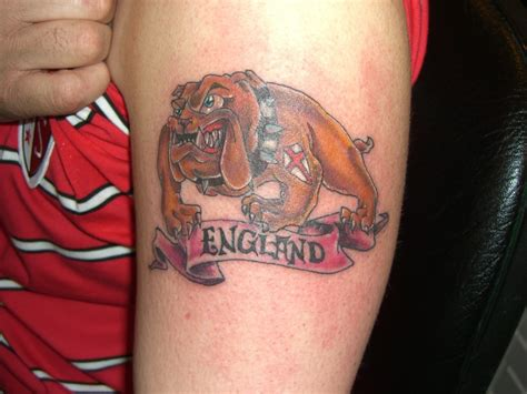 tattoo pictures uk bulldog and uk flag tattoos bulldog and uk flag