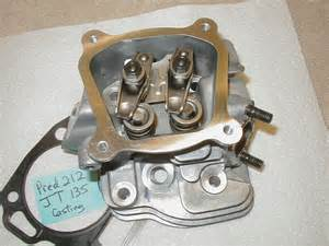 go cart predator 212 cc engine parts cylinder jt 135 with valves iii ebay