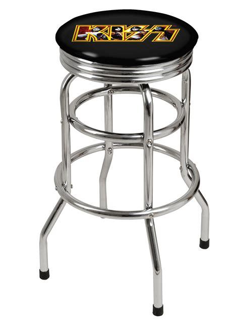 billiard room bar stools gene simmons premium licensed bar stool pool room