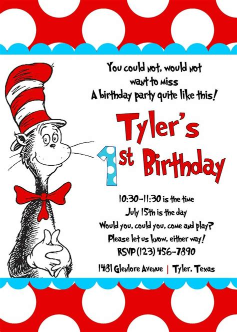 free dr seuss invitation templates 67 best images about on on birthday