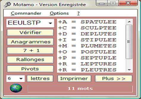 anagrammi da lettere comment tricher au scrabble les logiciels anagrammeurs