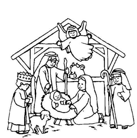 coloring pages nativity story best 25 nativity coloring pages ideas on pinterest