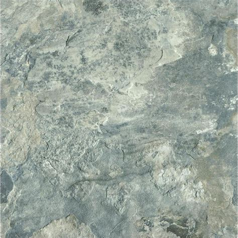 groutable vinyl tile shop armstrong flooring crescendo 1 12 in x 12 in groutable gray peel and stick