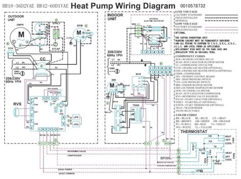 residential heat compressors wiring diagrams repair