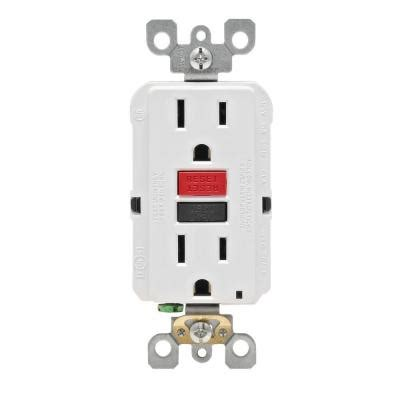 leviton smartlockpro 15 gfci duplex outlet with
