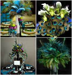 peacock themed wedding decorations 2013 wedding trends peacock wedding theme ecinvites