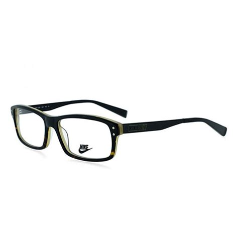 Frame Kacamata Anak Nike Square nike mens eyeglasses nk7206 001 black tortoise square frames