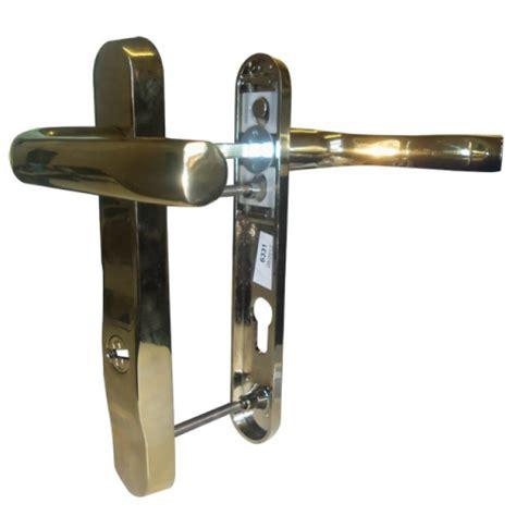 Security Doors Upvc Security Door Locks Upvc Door Handle No 11 High Security 92mm Centres Spindle To Cylinder Lever Lever