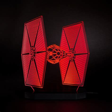 Star Wars Home Decor by Lampe Star Wars Tie Fighter