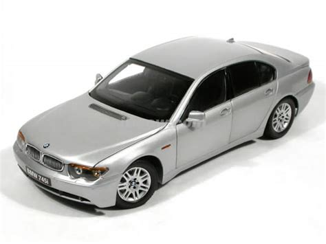 Diecast Bmw 745i 2004 bmw 745i diecast model car 1 18 scale die cast from kyosho silver