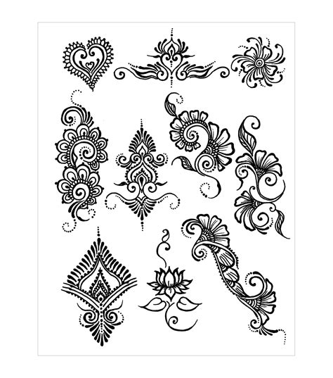 henna tattoo design transfer paper stencil maker akyio henna stencils pack earth henna designs jo