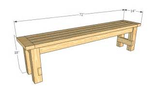 Simple Work Bench Plans Wooden Bench Plans Outdoor 187 Plansdownload