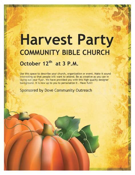 Harvest Celebration Church Flyer Template Flyer Templates Harvest Festival Flyer Free Template