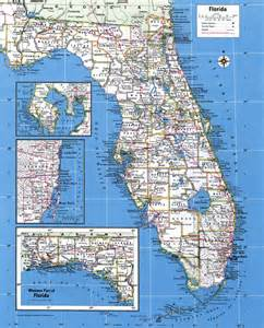 large map of florida cities large detailed administrative map of florida state with