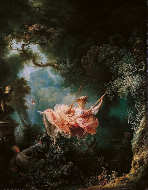 fragonard the swing 1766 my history menstrual cycle i ve got the painters in
