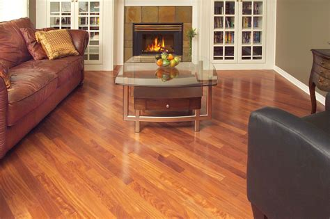 "IndusParquet Santos Mahogany 5"" Engineered Hardwood Flooring"