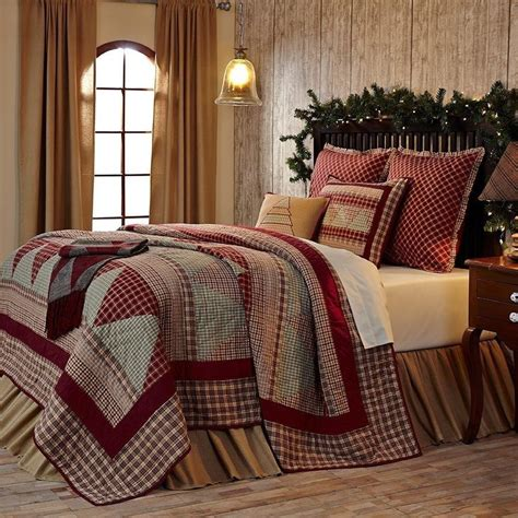 Patchwork Quilt Comforter - nicholas country patchwork quilt bedding pillow