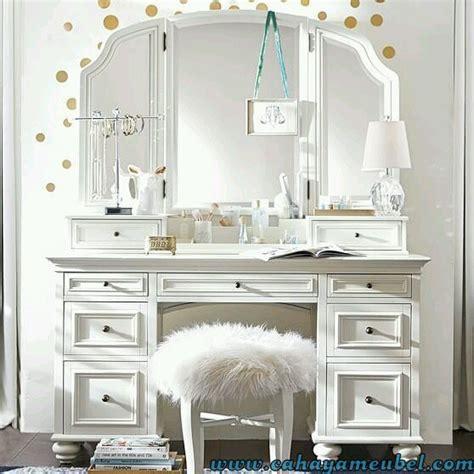 Meja Rias Minimalis Putih meja rias minimalis mewah warna putih cahaya mebel jepara