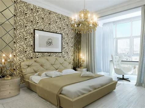 Bedroom Design Wallpaper Paint Lit Moderne Adulte Xcm Chevets Chambre Coucher Moderne