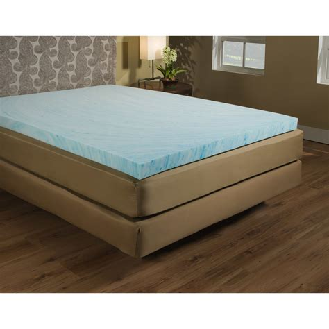 3 Memory Foam Mattress Topper by Gel Mattress Topper Memory Foam Bed Pad 3 Inch
