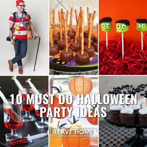 halloween party themes 2015 10 awesome halloween party ideas the leave home blogthe