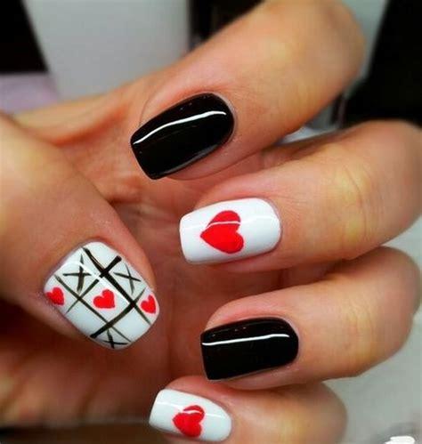 imagenes de uñas pintadas de rojo y negro decoraci 243 n de u 241 as 2018 fotos de dise 241 os paso a paso