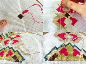 embroidery design cross stitch diy embroidery hoop wall art tutorial threadbear